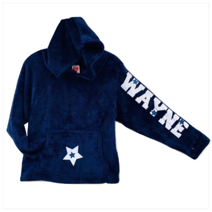 Custom Camp Fuzzy Hoodie- The Canteen - Camp Wayne
