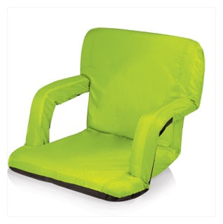 Camp Chair with Arms Lime Green