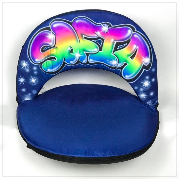 Airbrushed Camp Chair - The Canteen - Sofia