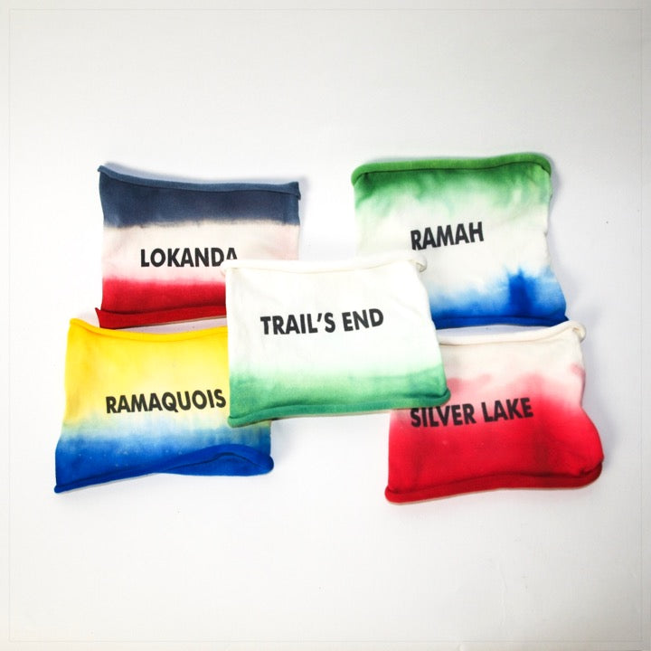 Tie Dye Headband with Camp Name - The Canteen