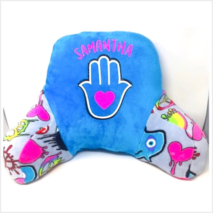 Custom Fuzzy Hamsa Boyfriend Pillow - The Canteen