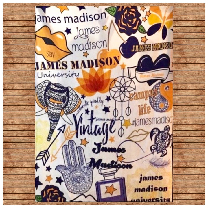 Custom Spirit Blanket - The Canteen - JMU