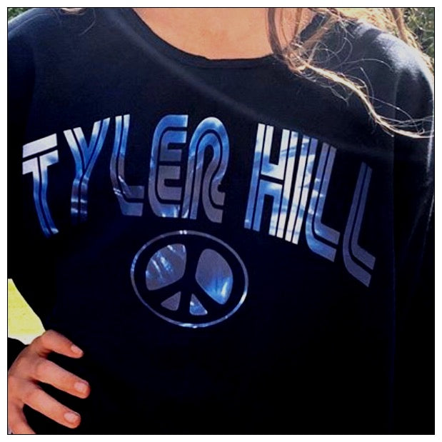 Custom Cropped Chevron Sweatshirt - The Canteen - Tyler Hill
