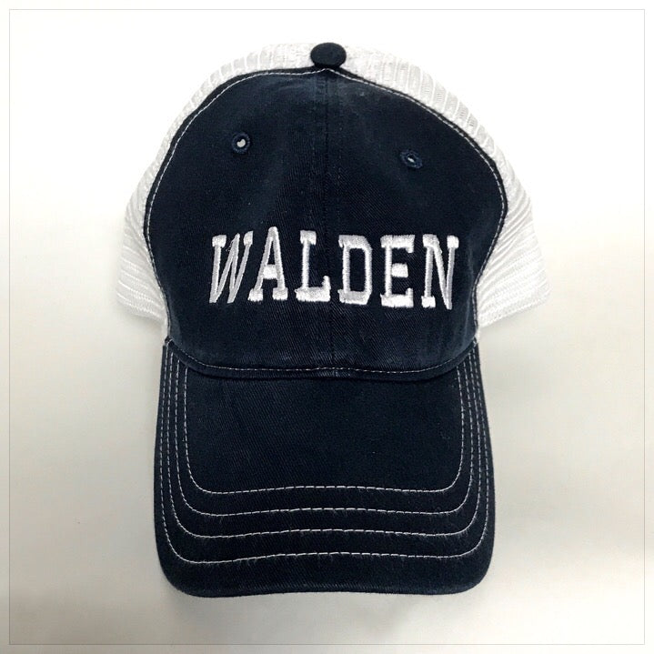 Custom Embroidered Trucker Hat - The Canteen  Walden