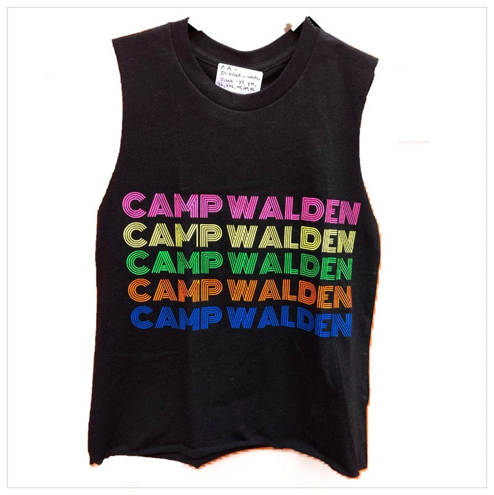 Custom Camp Neon Repeat Tank - The Canteen - Walden