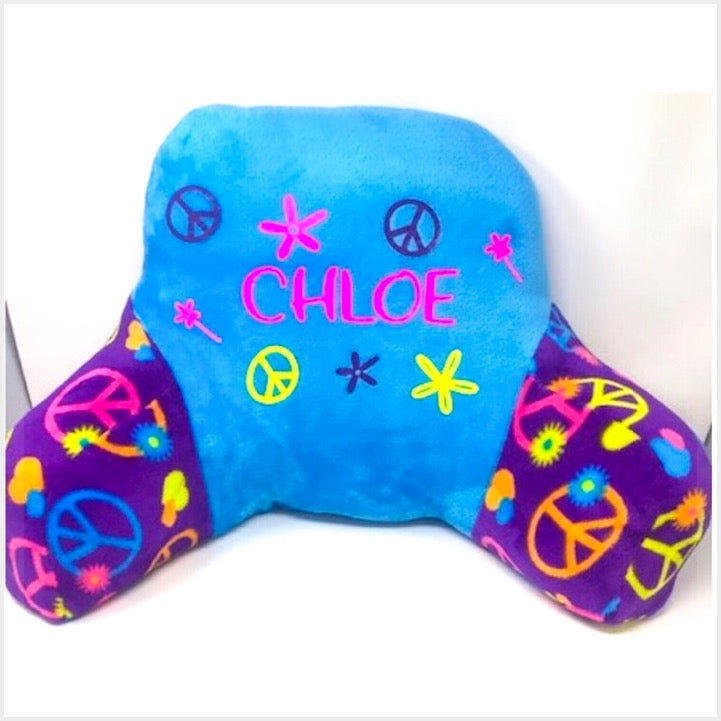 Custom Fuzzy Peace Signs Boyfriend Pillow - The Canteen
