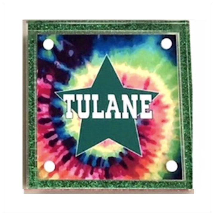 Custom Lucite Box Tulane- The Canteen