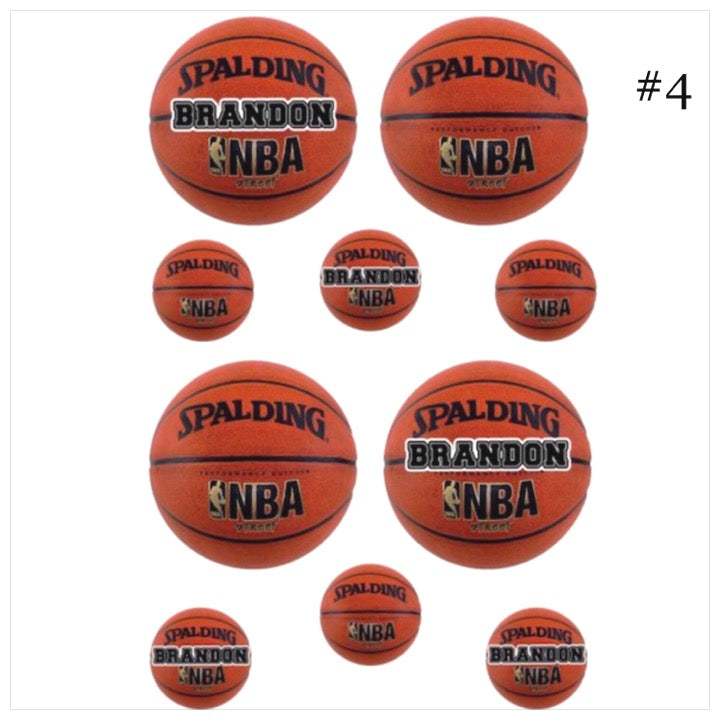 Personalized Cling Its- The Canteen - basketball