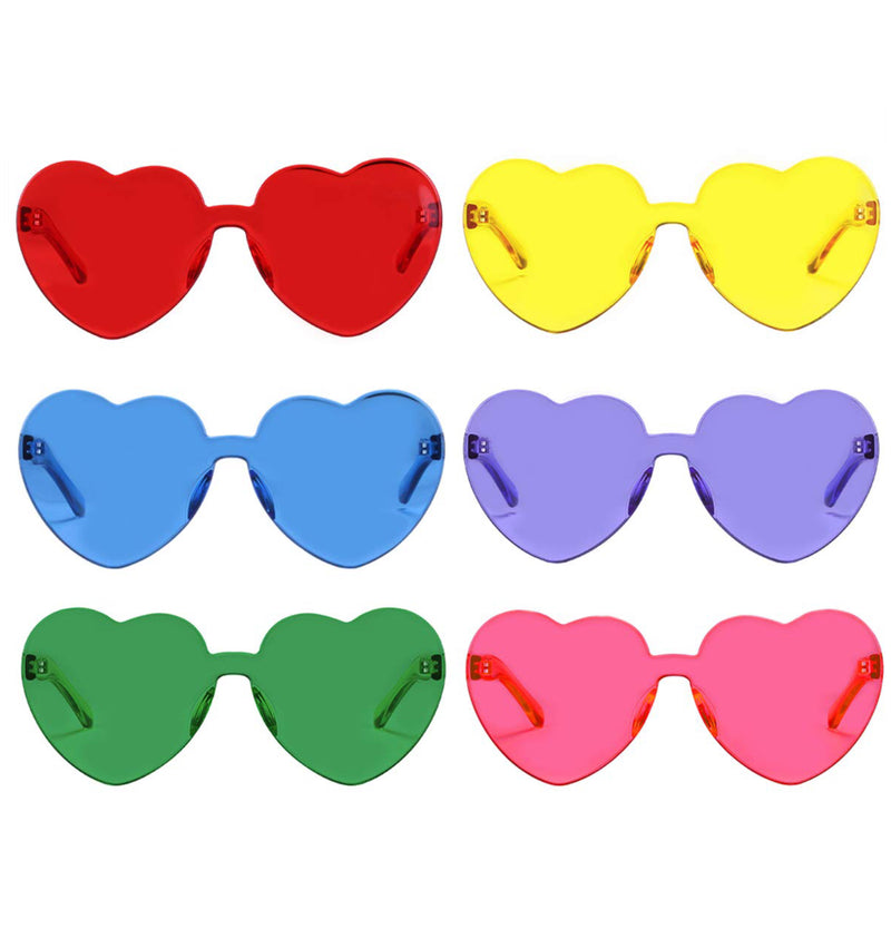 Heart-Shaped Sunglasses- The Canteen