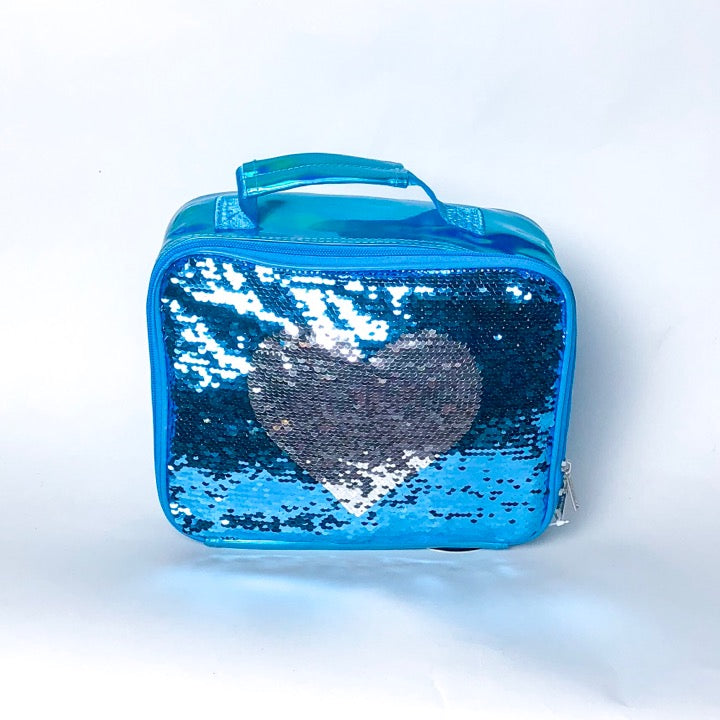Sequined Switch Flip Lunch Tote