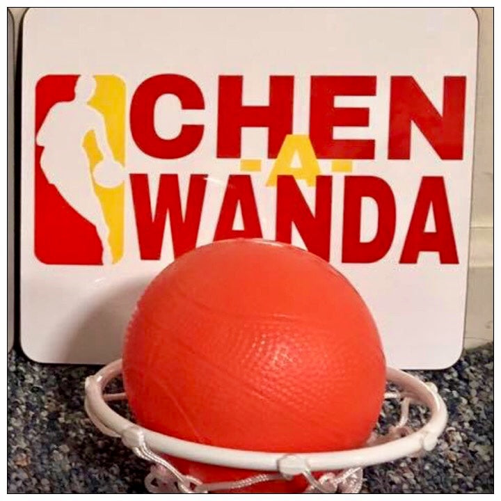 Custom Camp Mini Basketball Hoop - The Canteen Chen-a-wanda