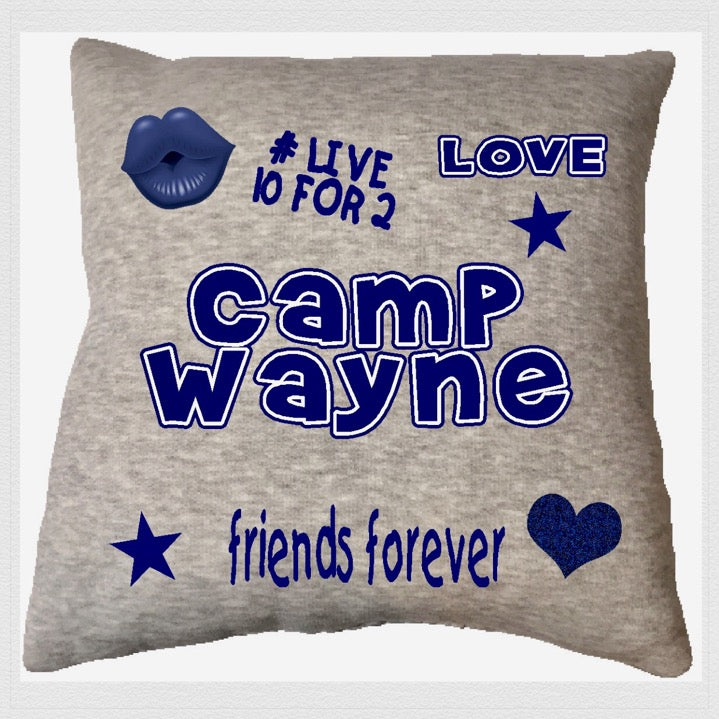 Custom Camp Friends Forever Pillow - The Canteen