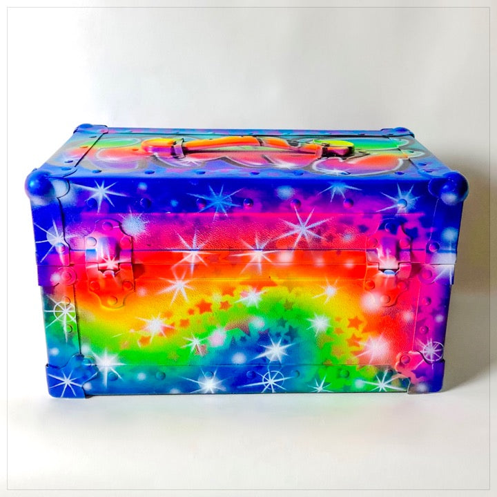 Airbrushed Mini Trunk - The Canteen