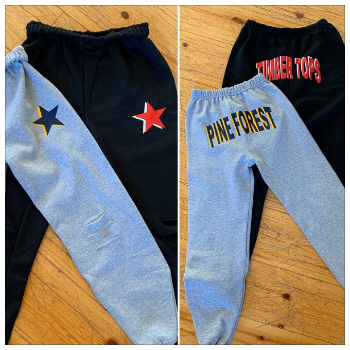 Custom Camp Star Shadow Sweatpants - The Canteen