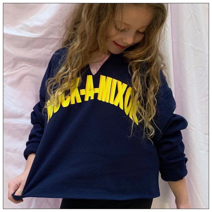 Custom Shadow Crop Sweatshirt- The Canteen - Nock-a-mixon