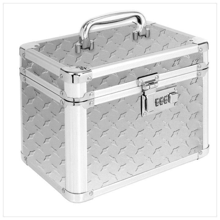 Personal Security Lock Box - Silver Tread- The Canteen