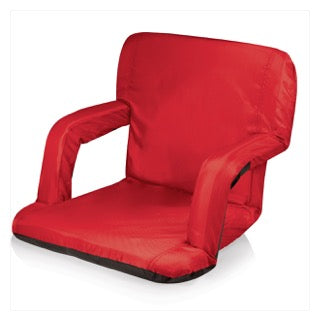 Camp Chair with Arms Red - The Canteen