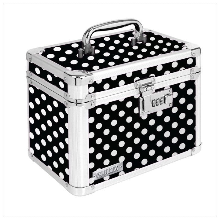 Personal Security Lock Box - Polka Dot -The Canteen