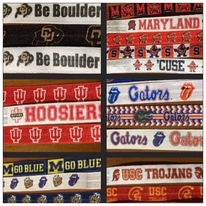 Custom College Hair Ties - The Canteen