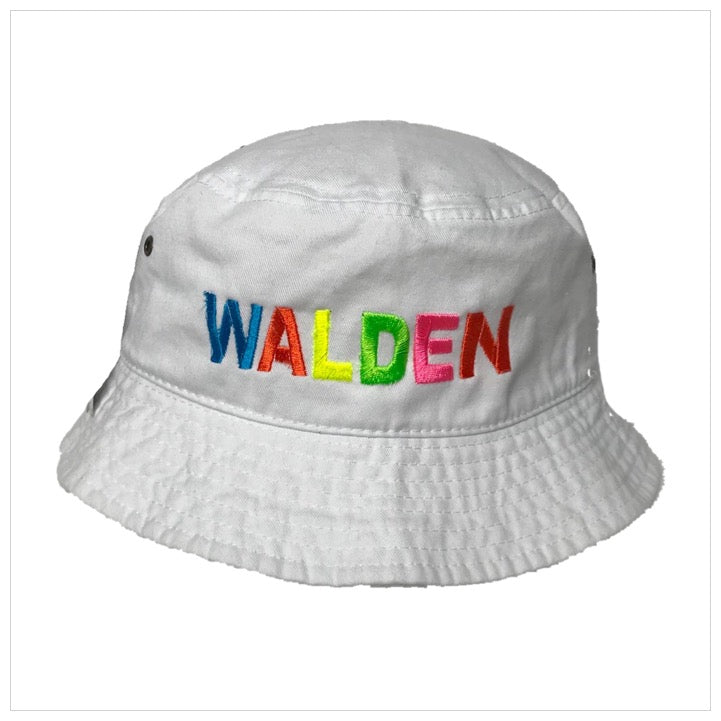 Embroidered Bucker Hat - The Canteen - Neon Walden