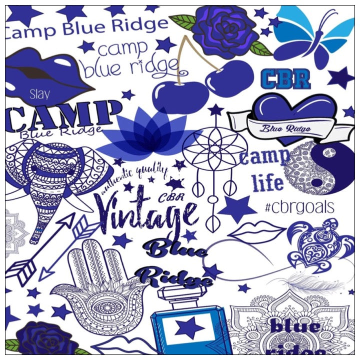 Custom Spirit Blanket - The Canteen - Blue Ridge