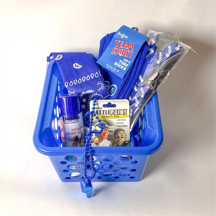 Blue Color War Basket - The Canteen