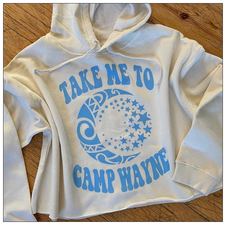 Take Me to Camp Cropped Hoody - The Canteen - Camp Wayne