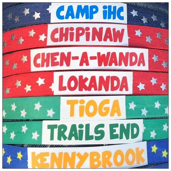 Custom Camp Choker - The Canteen - Stars