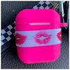 Custom AirPod Case- The Canteen - Hot Lips