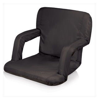 Camp Chair with Arms Black - The Canteen