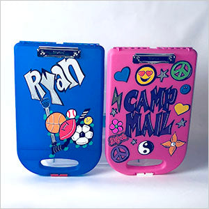 Personalized Clipcases blue and pink - The Canteen