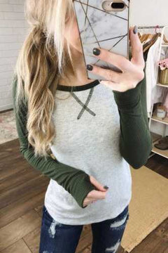 Long Sleeve Raglan Tee