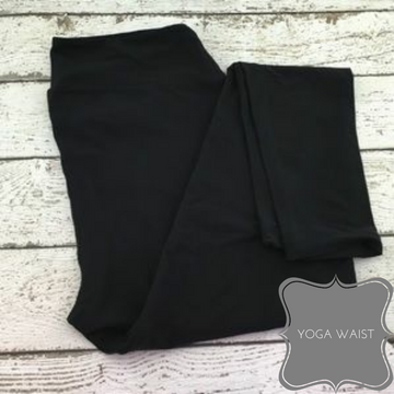Buttery-soft Black Leggings
