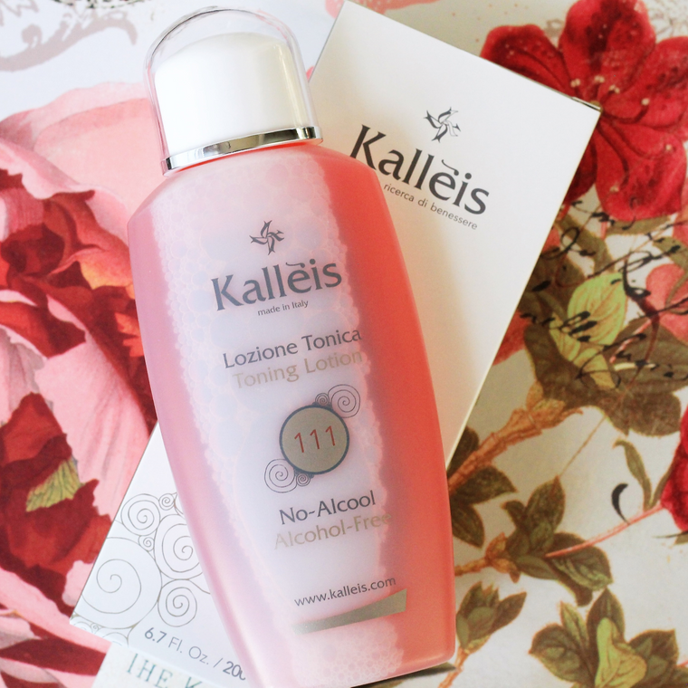 Try Kalleis Alchol Free Toning Lotion to remove impurities, balance the skin's natural pH level, strengthen, stimulate and regulate your skin's hydration for a fresh, radiant complexions.