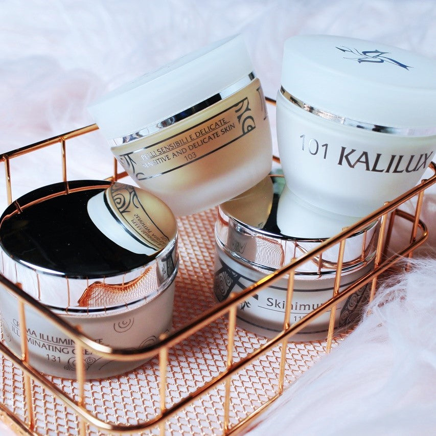 If radiant skin is what you're after—let us introduce you to the Italian brand Kalleis.  Inspired by ancient beauty secrets of Mediterranean heritage, Kalleis' line of cleansers, creams, and serums are centered around natural ingredients and skin science with wildly effective formulations, gentle enough for even the most sensitive skin.