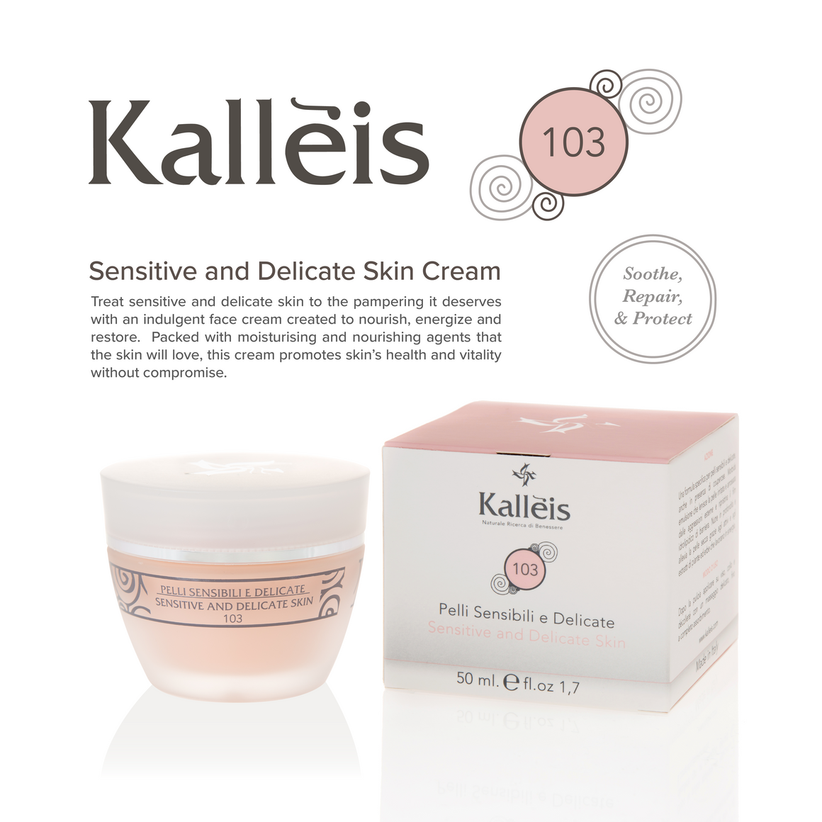 Sensitive & Delicate Skin Cream