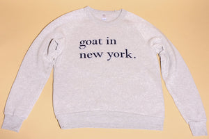 Goat In New York Sweatshirt