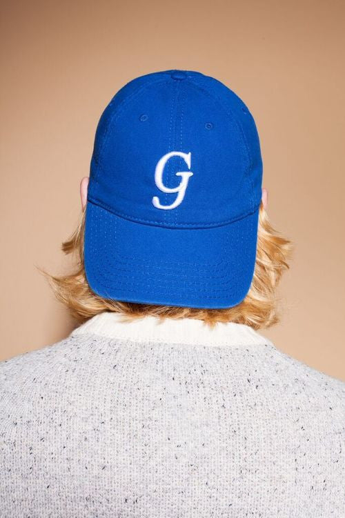 Cotton Twill G Blue Hat