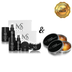 2x Hair Foundation Kit Bundle + FREE Edge Control