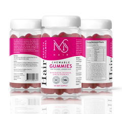 Hair Growth Vitamin Gummies - 2 Pack {Pre-Order}