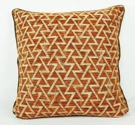 Aztec Orange Triangles