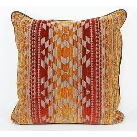 Red & Orange Aztec