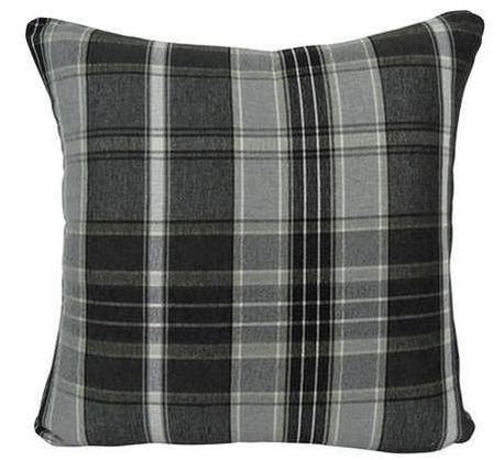 Tartan & Light Gray Back