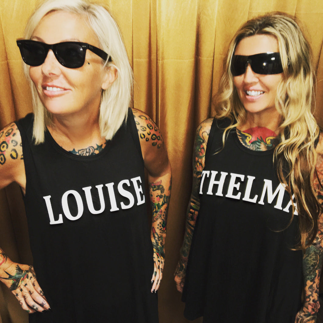 Thelma & Louise Best Friends Sleeveless Tunic T-Shirt