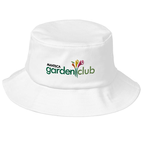 Old School Bucket Hat - Manteca Garden Club