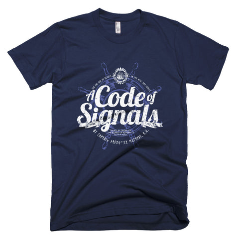Code of Signals - T-Shirt (Blue)