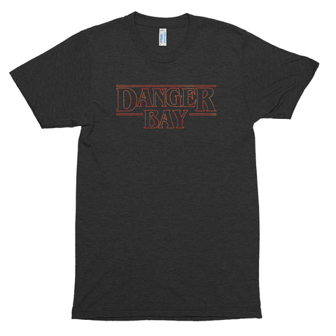 DANGER BAY - Stranger Things Inspired Short Sleeve Track Shirt