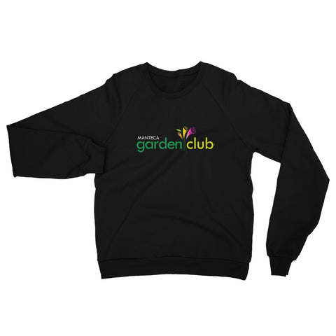 Unisex California Fleece Raglan Sweatshirt - Manteca Garden Club