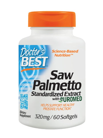 Best Saw Palmetto, 320 mg, 60 soft gels, Doctor's Best