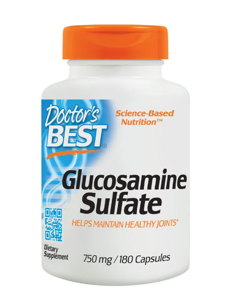 Best Glucosamine Sulfate, 750 mg, 180 ct, Doctor's Best
